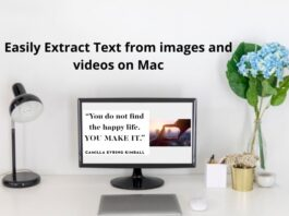 Easily Extract Text from images and videos on Mac