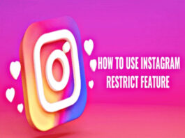 how to use Instagram Restrict Feature