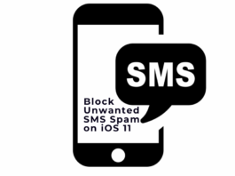 Block Unwanted SMS Spam on iOS 11