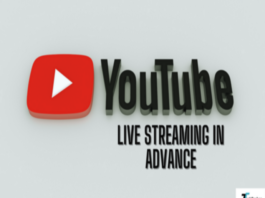 schedule livestream on Youtube in advance
