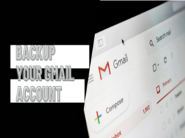 Backup Your Gmail Account