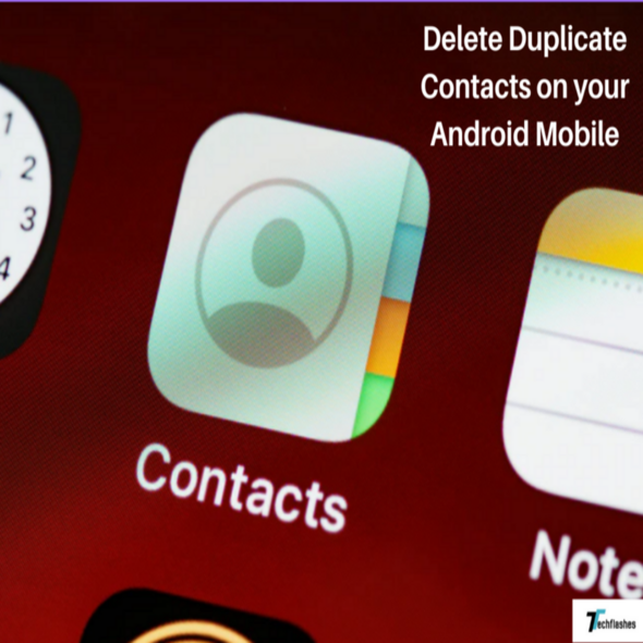 delete duplicate contacts on android mobile